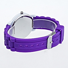 Christmas Gifts Children Color Fashion Watch Silicone Strap Wrist Watch