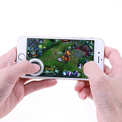 Bakeey Q8 Mini Ultra Touch Screen Phone Arcade Games Controller Joystick Gamepad For Phone Tablet