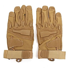 Full Glove Military Tactical Army Sand M