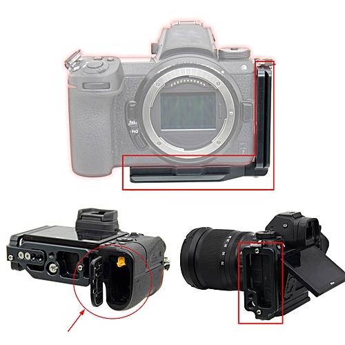 Extendable Vertical Quick Release Tripod L Plate Bracket for Nikon Z7 Z6  Camera
