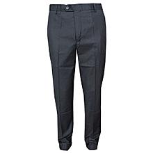 Official Trouser Pant - Black - Slim Fit