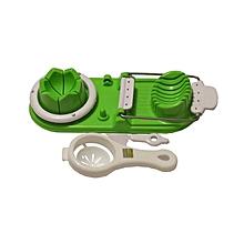Egg Slicer & Yolk Seperator - Green