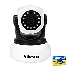 Vikcam C7824WIP HD 720P WiFi Indoor IP Camera ONVIF2.0 Sonic Transfer Fast Code Matching - White