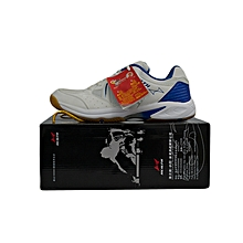 Table Tennis/Badmintion Shoes- 2016white/Royal- 5