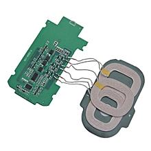 GB Three coil wireless charging transmitter module-Green