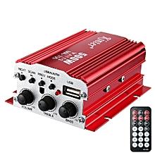 Kinter MA700 FM IR Control FM MP3 USB HiFi Stereo Power Digital Amplifier-RED