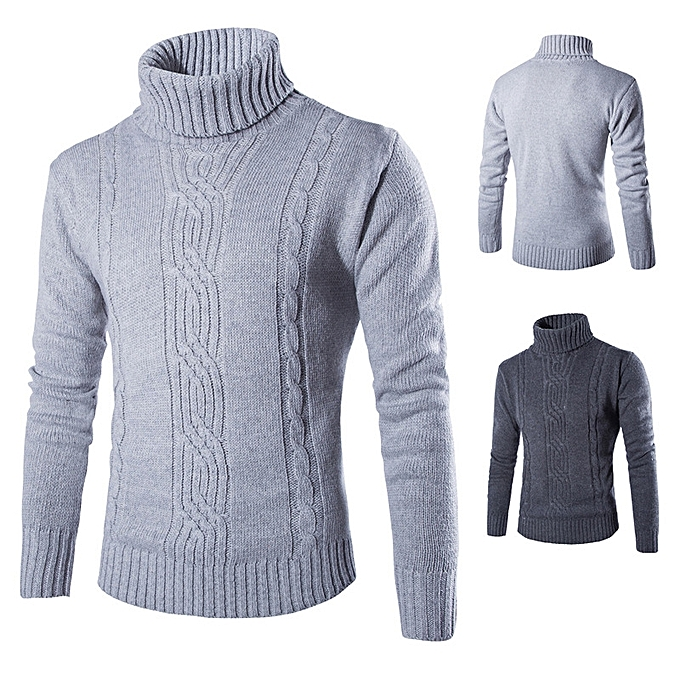 Buy Generic New Mens Sweater Fashion Jacquard Sweater Solid Color