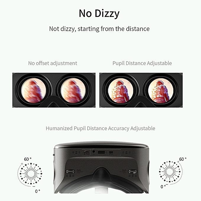 7c33e5ffa56 ... VIULUX V6 Virtual Reality Glasses Mobile All-in-one Machine 3D VR  Headset 1080P ...
