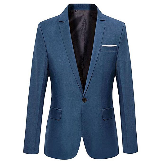 Men's Slim Fit Suit Blazer
