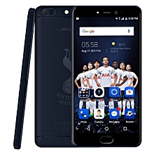LEAGOO T5 THFC, 4GB+64GB, Dual Back Cameras, Fingerprint Identification, 5.5 inch 2.5D Curved Sharp LEAGOO OS 3.0 (Android 7.0) MTK6750T Octa Core up to 1.5GHz, Network: 4G, Dual SIM(Dark Blue)