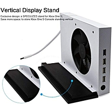 JYS Vertical Stand Cooling Fan And 4 Ports USB Hub For Xbox One S