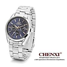 top quality stainless steel quartz watch waterproof couple wristwatches men women luxury brand 006b fashion clock