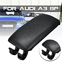 Car ABS Leather Center Console Armrest Lid Cover Latch Clip Catch For Audi A3 8P