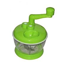 Cabbage Sukumawiki Vegetable Cutter Chopper Shredder - Green