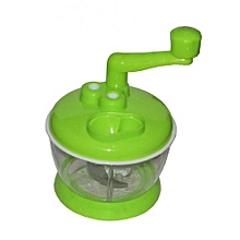 Cabbage Sukumawiki Vegetable Cutter Chopper Shredder - Green
