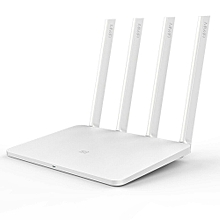 Mi Router 3 – Wireless Dual Band Gigabit Smart Router / Wi-Fi Repeater – AC1200 – White