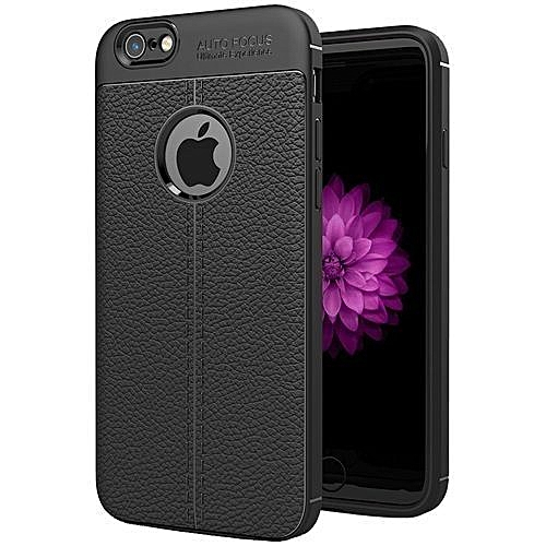 best authentic 2b907 5c693 For iPhone 6 Plus and 6s Plus Back Cover (Black)