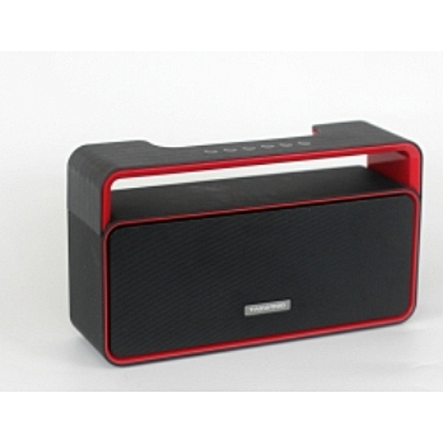 MP-25 Portable Black Bluetooth speaker with Fm Radio,MP3, Line in Mode and a Built in Battery