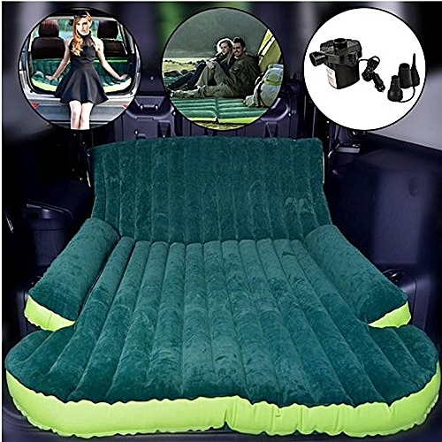 Universal Car Air Mattress Travel Bed Back Seat Cover Inflatable