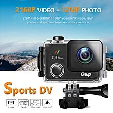 【Flash DealGitup G3 Duo PRO 170 Degree Packaging Sport DV 2 Inch Tough Screen Action Camera Sony Sensor