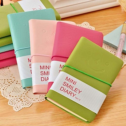 Generic Leather Portable Notebook Pocket Diary Memo Notepad Journal Planner Note Pad