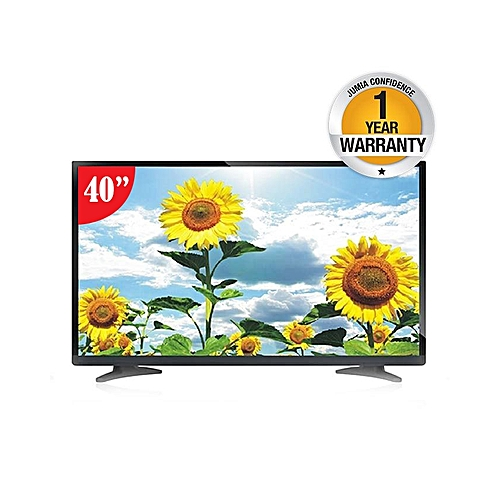 "WGF40NTLA9 - 40"" HD Digital LED TV -  Black."