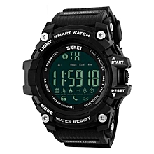 1227 Waterproof Bluetooth Sports Smart Watch Pedometer For IOS/Android Black