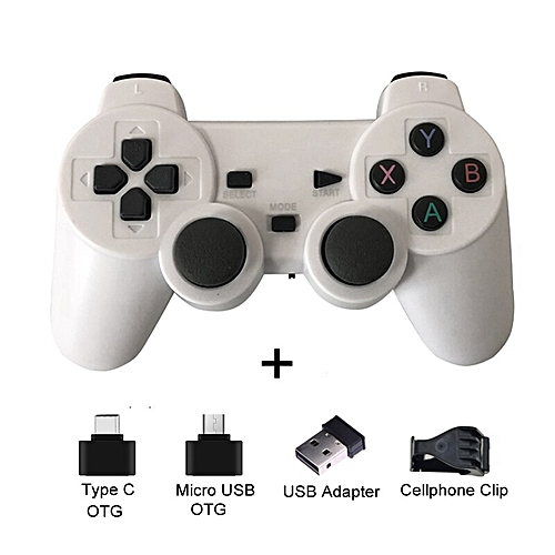 Wireless Gamepad For Android Phone/PC/PS3/TV Box Joystick 2 4G Joypad Game  Controller For Xiaomi Smart Phone Game Accessories DNSHOP