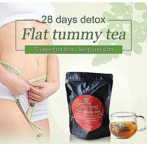 Generic Flat Tummy Tea 28 Days Detox With Moringa And
