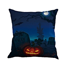 Halloween Ghost Pumpkin Pillow Case Sofa Waist Throw Cushion Cover Home Decor