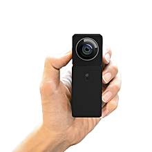 XIAOMI Wide Angle Dual Camera Dual-CMOSS Panorama View Night Vision Remote Control Smart Mini Camera