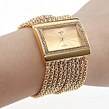 Ladies' Watches Watches Bracelet Manufacturers Direct Selling Diamond Watches A010-Gold
