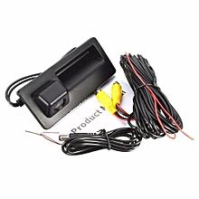 OR Reversing Backup Camera Car Rear For VW GOLF JETTA TIGUAN Black