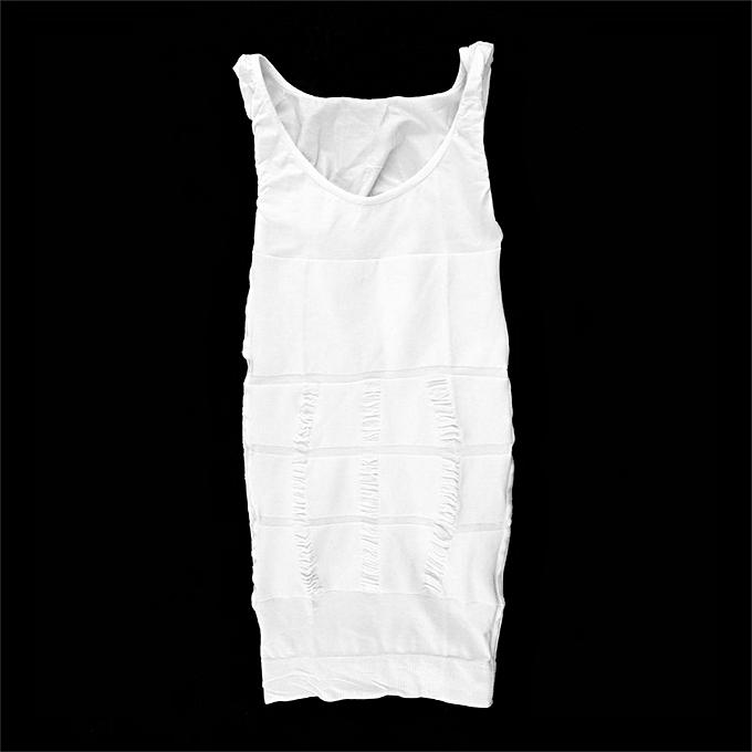 dcadb007786 Men Body Slimming Tummy Shaper Belly Underwear Shapewear Waist Girdle Shirt  ...