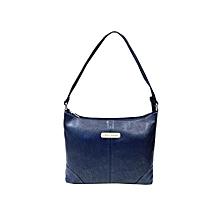 PU Comfy Handbag - Blue