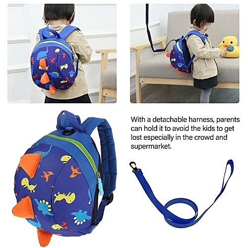 Generic Hot Cute Cartoon Dinosaur Baby Safety Harness Backpack Toddler  Anti-lost Bag Children Schoolbag 429878bb80b48