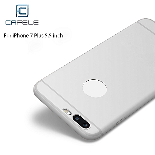 CAFELE Ultra Slim Frosted Soft Touch Flexible Silicone Solid Color Protective Back Cover for iPhone 7 Plus 5.5 inch