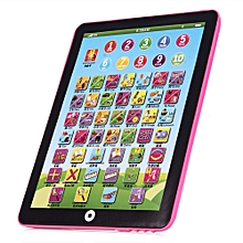 Mini English Child Touch I Pad learning Education -pink