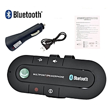 Wireless Bluetooth Car Handsfree Speaker Phone Visor Clip for iPhone Android