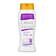 Spa Haus Silkience Cremay Rich and Creamy Body Wash Relaing with Lavender & Vanilla 16-oz (473ml)
