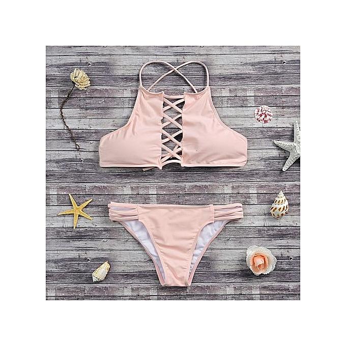 1b206e3f22970 Xingbiaocao Push-up Padded Bra Swimsuit Bathing Sexy Women Bikini Set  Swimwear PK S