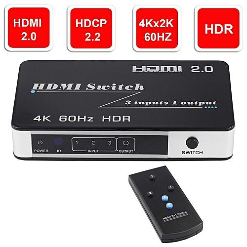 02849fb86b2a8 Mini HDMI 2.0 Switch HDR HDCP 2.2 3x1 5x1 HDMI Switch 2.0 4K HDMI Switch  HUB Box 3 / 5 Port HDMI Switch Switcher 4K for PS4 Pro WOEDB
