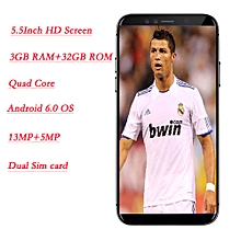 TIMMY 4G LTE 32GB Android Smartphone Mobile Phone Unlocked Quad Core New M78Pro-black