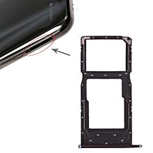SIM Card Tray + SIM Card Tray / Micro SD Card Tray for Huawei Honor 10 Lite (Blue)