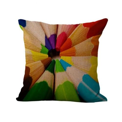Throw Pillow Jumia : Magideal Pencils Print Cotton Linen Throw Pillow Case Buy online Jumia Kenya