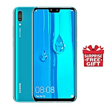 "Y9 (2019) - 6.5"" - 64GB - 4GB RAM - 16MP+2MP Dual Camera, 4G (Dual SIM) - Blue + Suprise Gift."