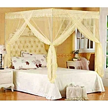 Mosquito Net with Metallic Stand - 4X6 - Cream