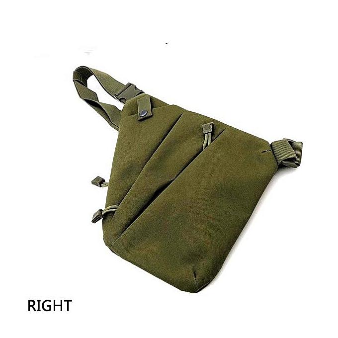 dd00c4ba02f06 Men Women Canvas Crossbody Shoulder Chest Backpack Anti Theft Sling Bag  Left/Right