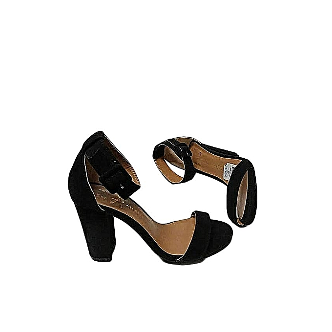 8687487f31c8 Generic fancy black open ankle strapped chunky heels best price jpg 680x680  Final price chunky heels