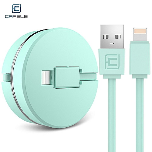 USB  Cable 8 Pin For IPhone 1M - Green